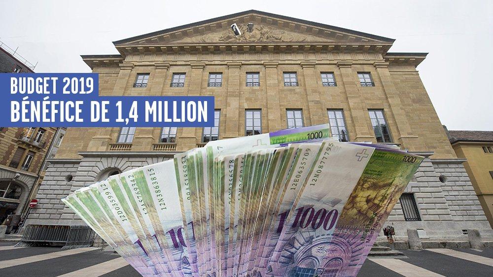 La Ville de Neuchâtel présente un budget 2019 ambitieux, équilibré et visionnaire, selon ses autorités.