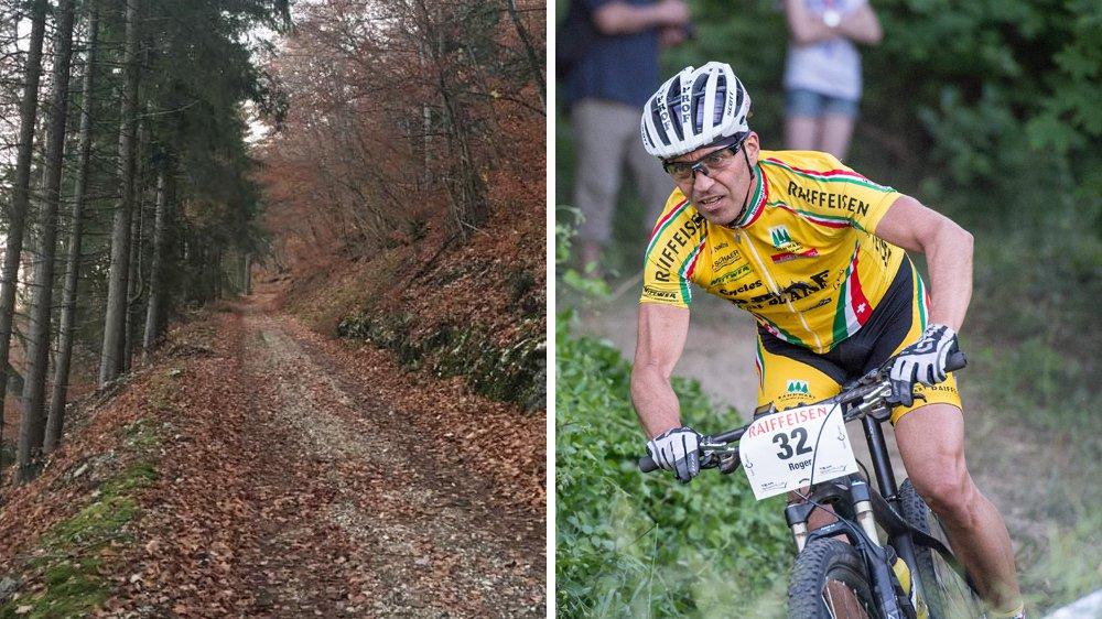 Roger Poggiali (ici lors de la Raiffeisen Trans 2015) montait sur le chemin du Torret lorsqu'il a été visé par un chasseur.