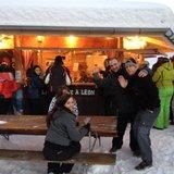 Après-ski à la Cabane à Léon