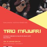 Nuits du monde avec Trio Majuari (Cuba)