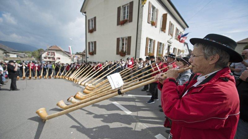 Un référendum conteste la baisse des subvention aux sociétés locales de Lignières, comme celle qui organise la traditionnelle désalpe.