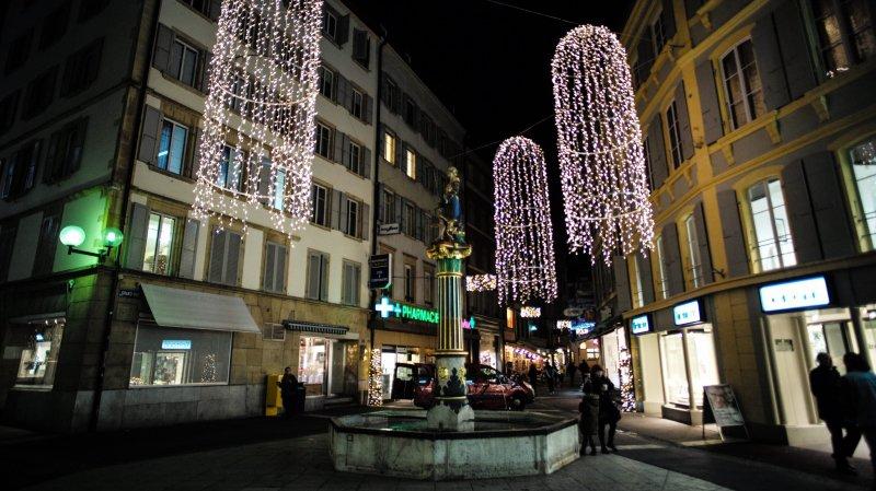 Tout pour un Avent convivial au centre-ville de Neuchâtel