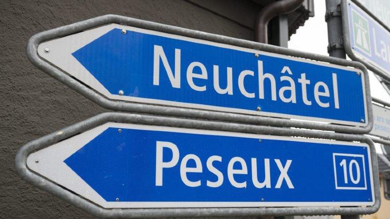 Peseux et Neuchâtel iront désormais dans le même sens