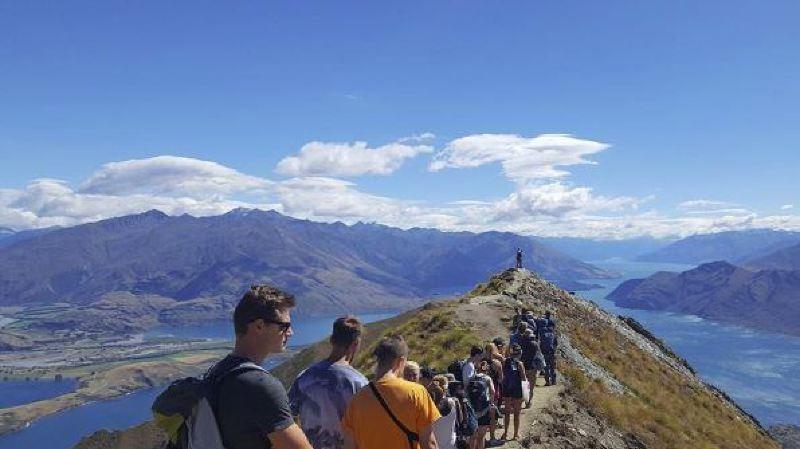 Nouvelle-Zélande: pour faire une photo devant ce paysage de rêve, vous devez faire la queue