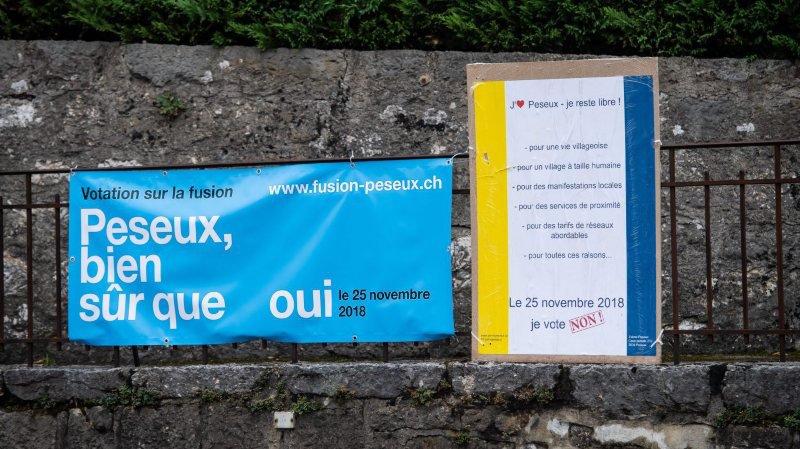 Le 25 novembre, la majorité des citoyens de Peseux avaient accepté la fusion.