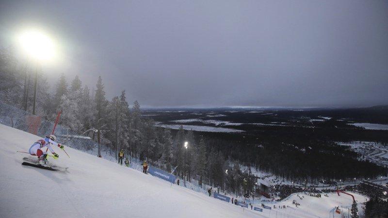 Le départ du slalom féminin de Levi est retardé de 45 minutes en raison du vent qui souffle sur la station finlandaise. (archives)