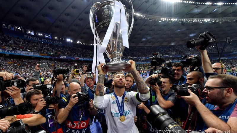 Sergio Ramos avait joué un rôle prépondérant lors de cette finale, provoquant notamment la sortie sur blessure de Mohamed Salah.