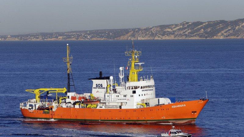 Marseille: la justice italienne veut placer l'Aquarius sous séquestre