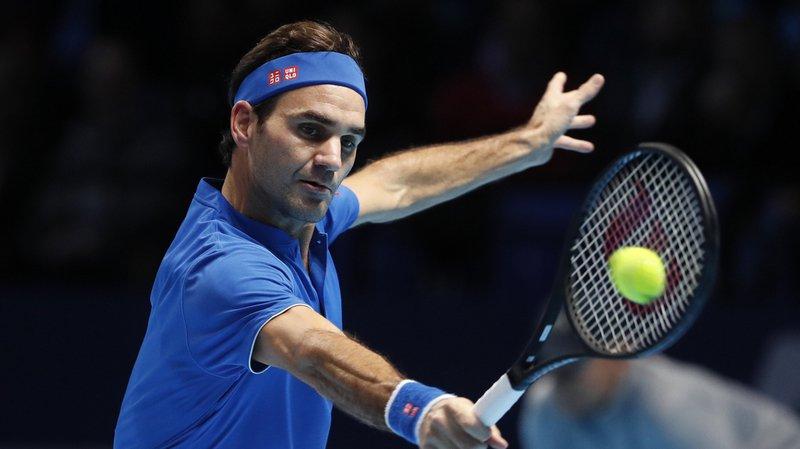Roger Federer s'est relancé dans le Masters de Londres, en s'imposant en deux sets mardi soir face à l'Autrichien Dominic Thiem.