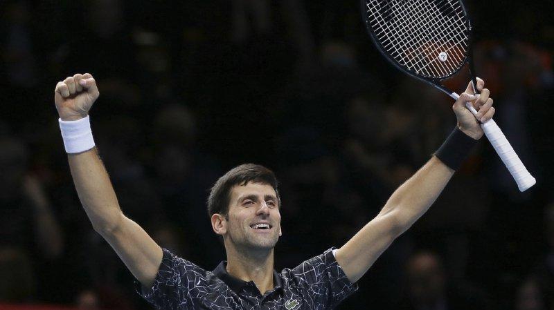 Tennis - Masters de Londres: Novak Djokovic rejoint Alexander Zverev en finale