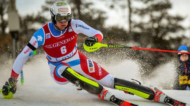 Ski alpin - Coupe du monde: Ramon Zenhäusern termine 4e du slalom de Levi remporté par Hirscher