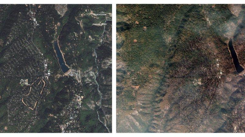 Californie: les recherches après le passage de Camp Fire menacées par la pluie