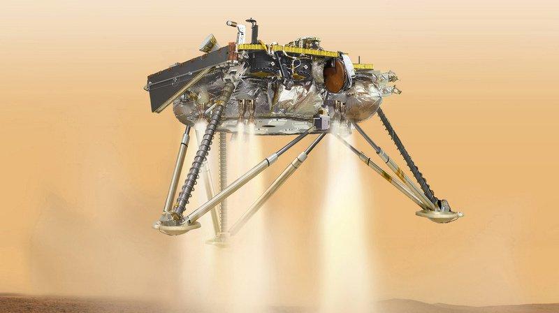 La sonde InSight a atterri avec succès sur Mars