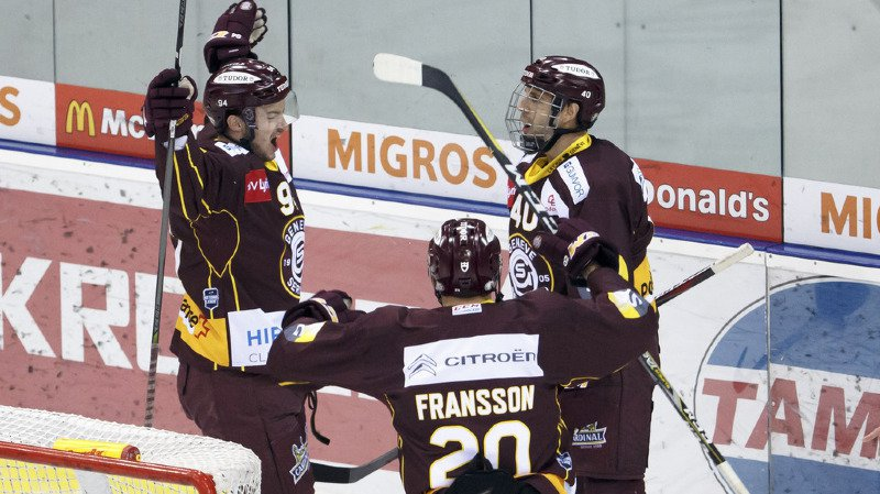 Hockey - National League: Genève enchaîne, Bienne perd la tête, Fribourg sombre, Lausanne stoppé net