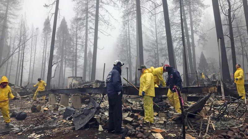 Incendies en Californie: le bilan monte à 87 morts