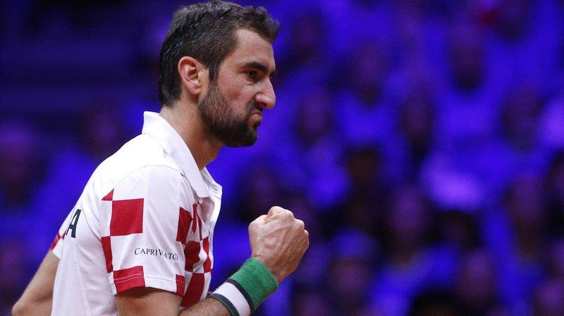 Tennis: la Croatie remporte la finale de la Coupe Davis en battant la France