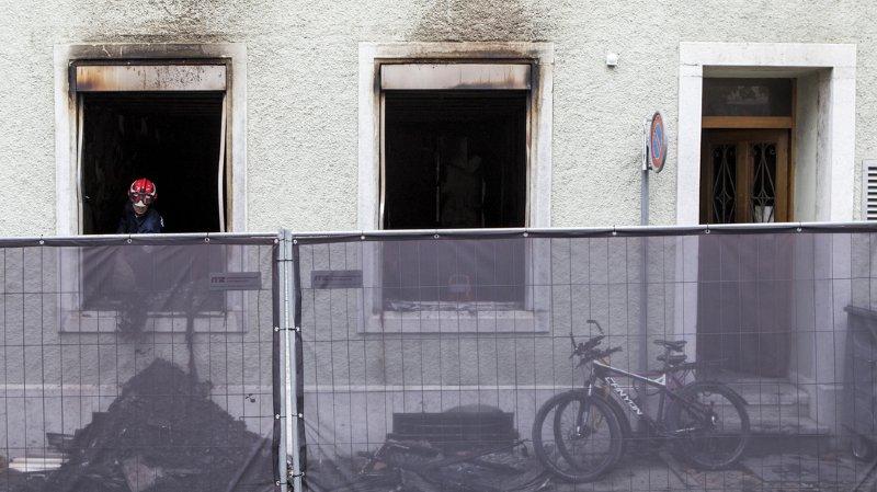 Soleure: les victimes de l'incendie étaient probablement des réfugiés