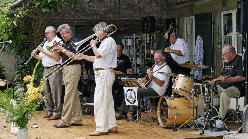 Concert vieux jazz New Orleans Hot Shot