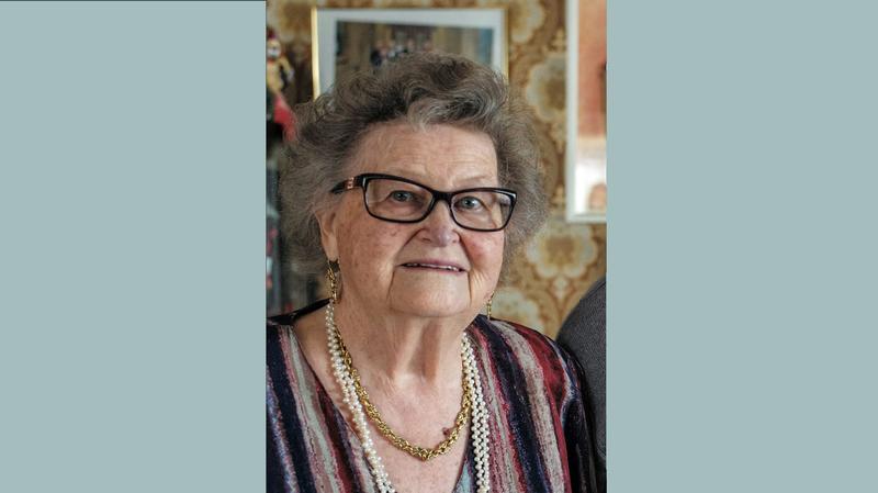 Lonny Flückiger est décédée cette semaine à l'aube de ses 85 ans.