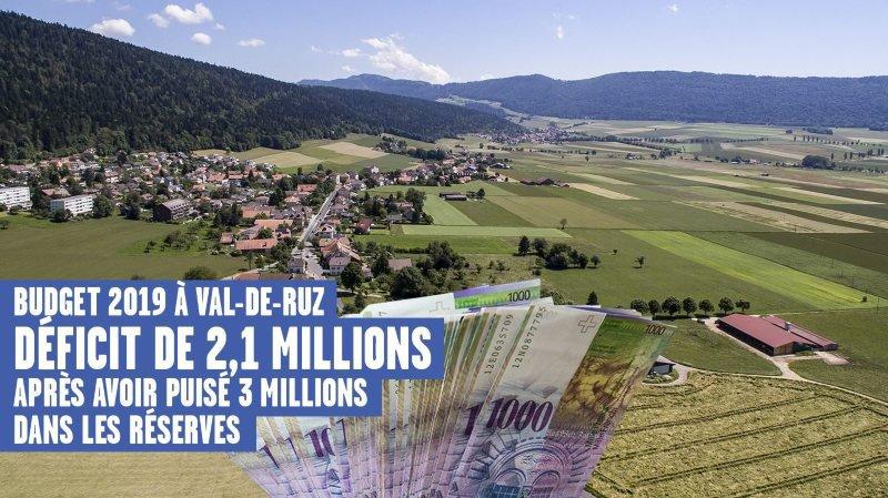 Le Conseil communal de Val-de-Ruz a présenté le budget 2019 ce mercredi 28 novembre.