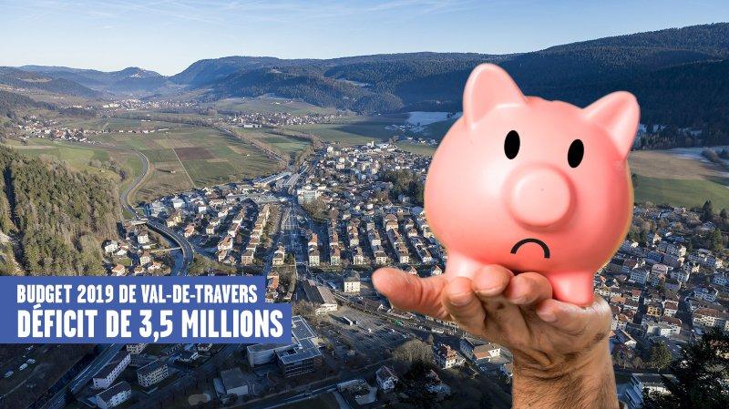 Le budget rouge de Val-de-Travers n'inquiète pas ses autorités