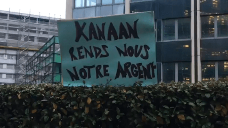 Genève – notes de frais: une centaine de personnes manifeste contre les membres de l'exécutif