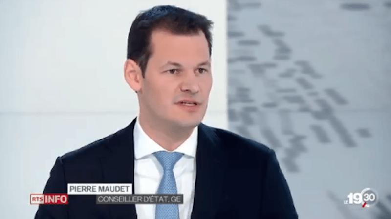 Affaire Maudet: le conseiller d'Etat genevois n'entend pas démissionner