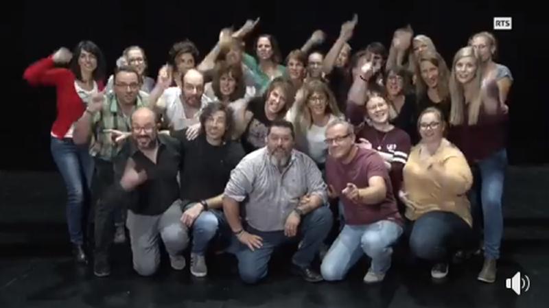 Les Neuchâtelois du Rocking Chair en lice dans l'émission «Chorus» de la RTS