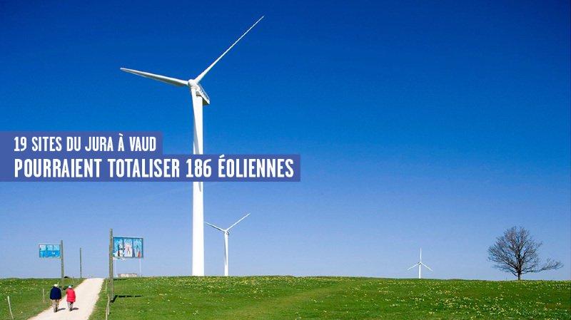Où en sont les projets éoliens de l'Arc jurassien