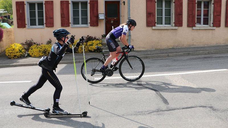 A ski-roues, à vélo ou en course à pied, le Neuchallenge a connu un gros succès.