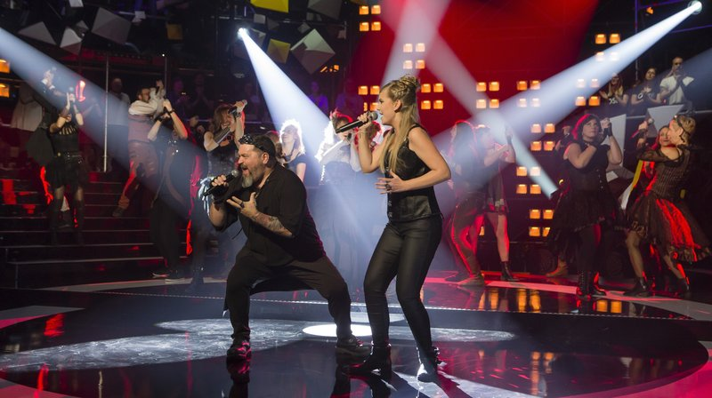 """La chorale chaux-de-fonnière Rocking Chair en finale de l'émission TV """"Chorus"""""""