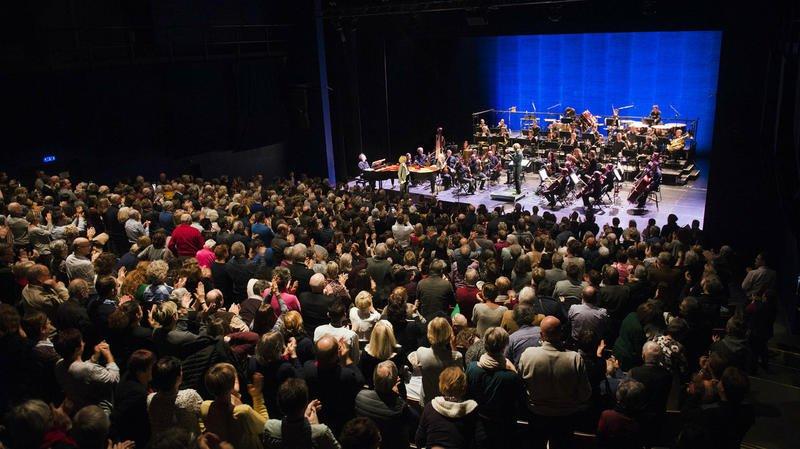 Jane Birkin, accompagnée par l'Ensemble symphonique Neuchâtel, a rendu hommage à Serge Gainsbourg
