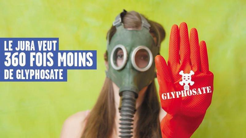 Le Jura veut 360 fois moins de glyphosate dans l'eau