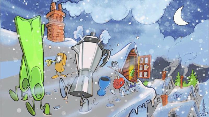 «En avant pour la nouvelle vie»: le conte de Noël de Thomas Sandoz