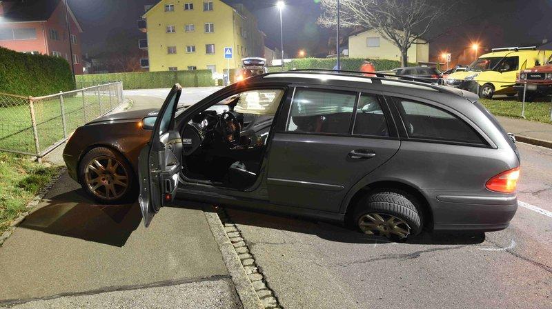 Oberriet (SG): cambrioleurs pris en chasse par des gardes-frontière, deux blessés
