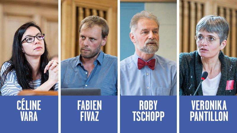 Les Verts neuchâtelois présentent leurs quatre candidats pour les prochaines élections fédérales
