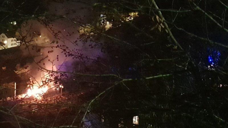 Le Locle: l'auteur de l'incendie des wagons au dépôt de la Douanière arrêté