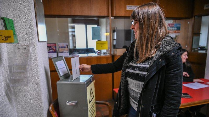 Peseux et la fusion: propos de bureau de vote
