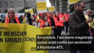 Crise migratoire: Carla Del Ponte espère que l'Aquarius trouvera un autre pavillon