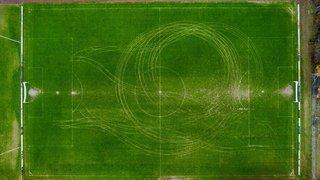 Deux terrains de football vandalisés ce week-end dans l'Entre-deux-Lacs