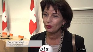 Doris Leuthard: 12 ans au Conseil fédéral suffisent