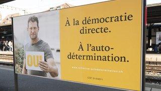 Votations fédérales: les affiches sobres de l'UDC n'ont pas séduit les électeurs