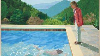 Peinture: une toile de Hockney vendue 90,3millions de dollars, un record pour un artiste vivant