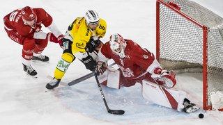 Hockey - National League: Lausanne bat Berne et prend la tête du classement avec Bienne