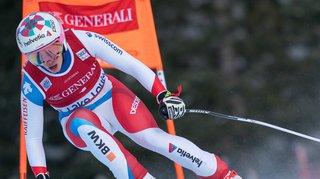 Ski alpin - coupe du monde: l'Obwaldienne Michelle Gisin termine 3e de la descente de Lake Louise