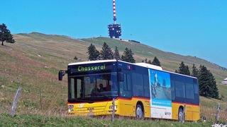 On pourra monter au sommet du Chasseral en transports publics