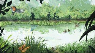 Début des travaux pour l'étang forestier de la Presta