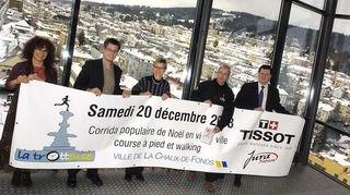 La première Trotteuse-Tissot à La Chaux-de-Fonds en 2008