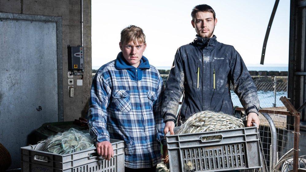 Nathan Magnin et Mathias Progin en ont marre de ramener des filets vides.