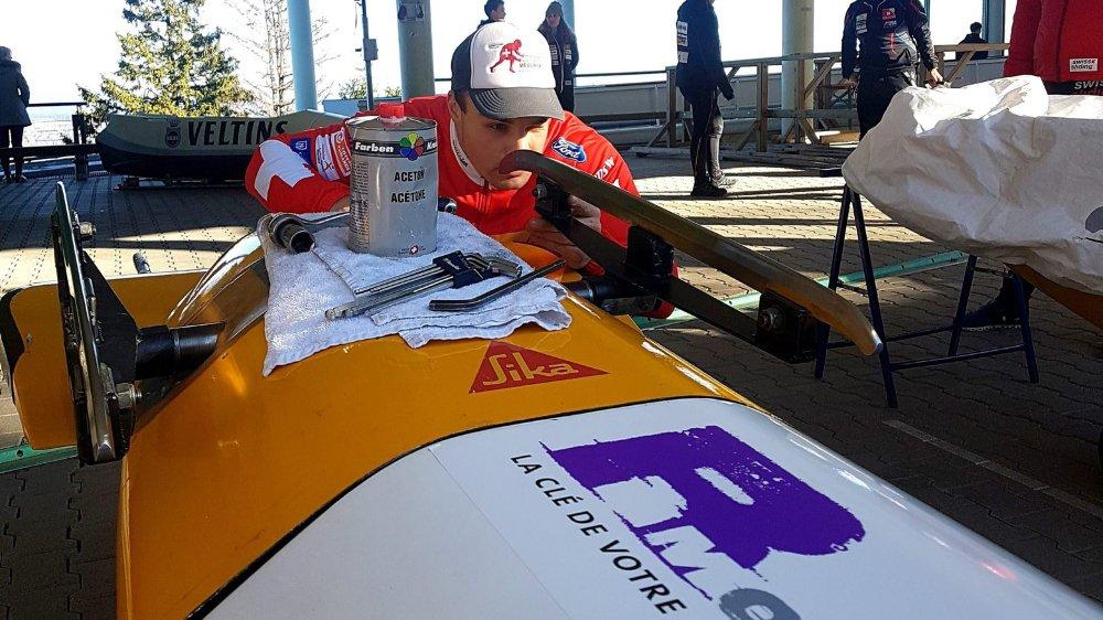 Yann Moulinier a soigné tous les détails pour être prêt pour le grand jour.